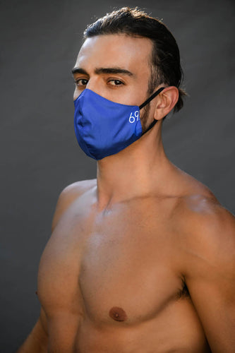 Solid Blue reversible MASK only