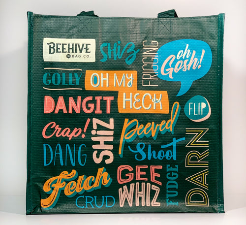 Clean Swears Reusable Grocery Bag