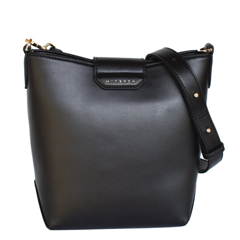 MINA BUCKET BAG - BLACK