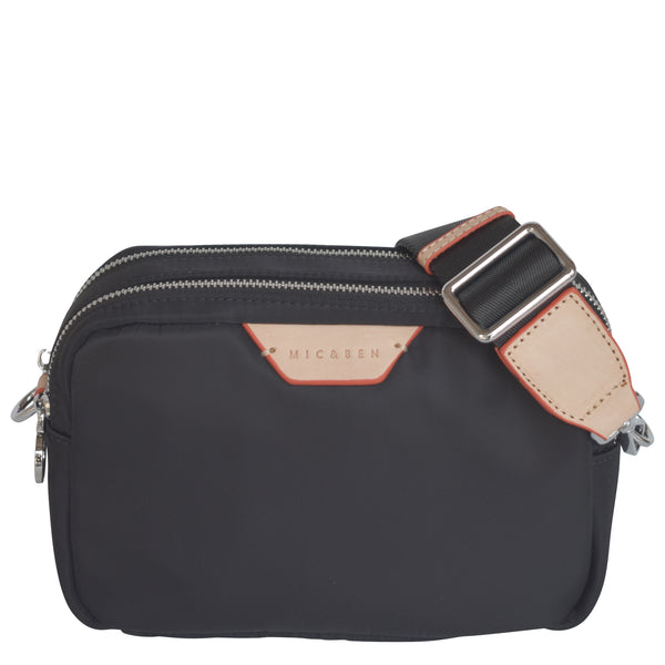TOFU CROSSBODY BAG - BLACK