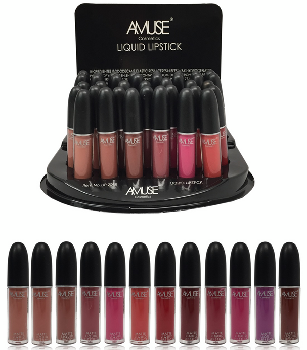Amuse Matte Liquid Lipsticks