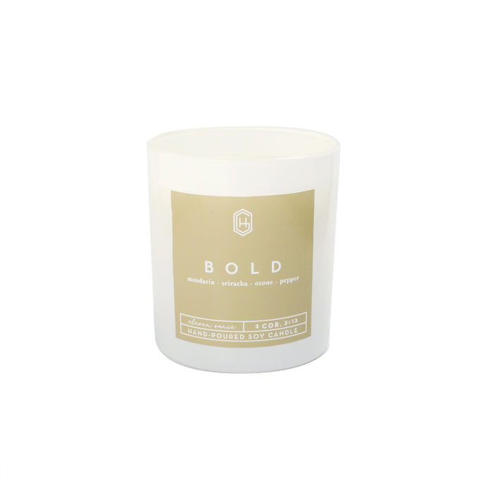 Hand-poured, soy candle, 11 ounce, Bold