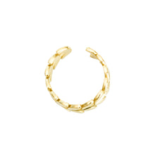 Load image into Gallery viewer, 14k gold, faith inspired, leaf adjustable stacking ring