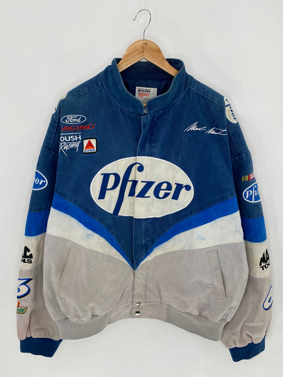 ROUSH RACING Size XXL Vintage Racing Jacket / 6178