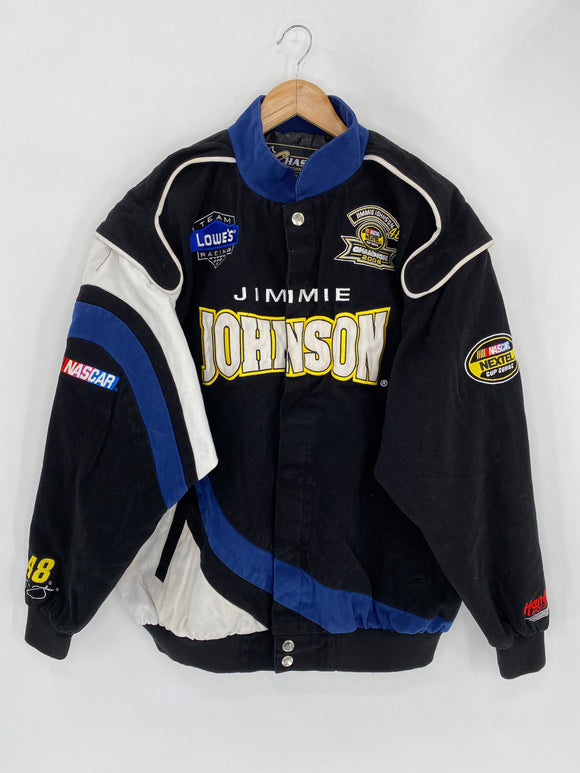 Vintage NASCAR JIMMY JOHNSON 2006 Size XL Racing Jacket / 5469