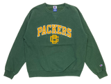 90's Champion Green Bay Packers Made in USA Vintage Sweat-Shirts / 1001