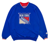 90's New York Rangers Starter Vintage NHL Sweat-Shirts / 1013