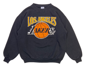 80's Los Angels Lakers Statrer Vintage Sweat-Shirts / 1025