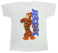 90's Tigger Disney Made in USA Vintage T-Shirt / 1081