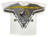 1996 Steelers Made in USA Vintage T-Shirt / 1082