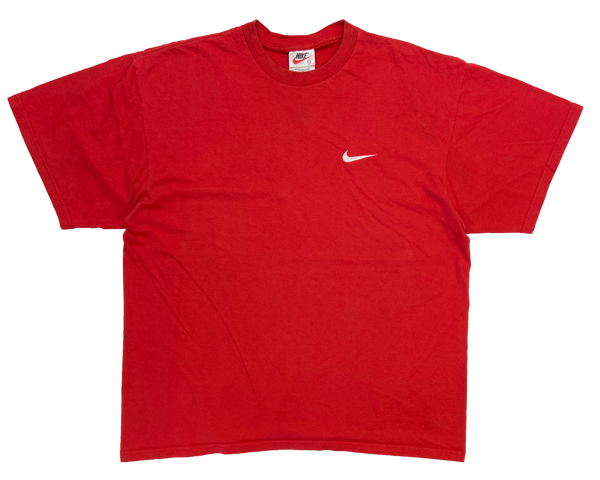 90's Nike Mini Swoosh Made in USA Vintage T-Shirt / 1095