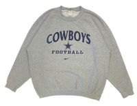 90's Nike Cowboys Made in USA Vintage Sweat-Shirt / 1112