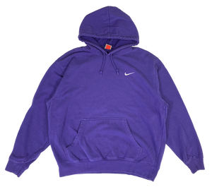 Nike Mini Swoosh Vintage Hoodie Sweat-Shirt / 1166
