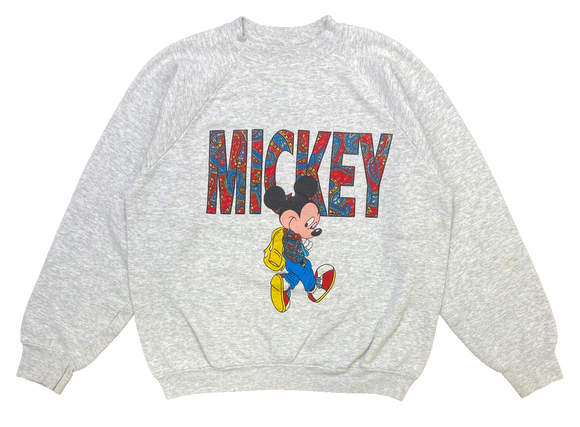 80's Mickey Disney Vintage Sweat-Shirt / 1199