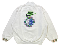 90's Nike International Vintage Half Zip Sweat-Shirt / 1289