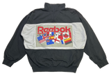 90's Reebok Vintage Half-zip Sweat-Shirt / 1304