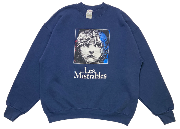 80's Les Miserables Vintage Sweat-Shirt / 1318