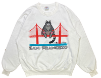 90's Crazy Shirts San Francisco Vintage Sweat-Shirt / 1344