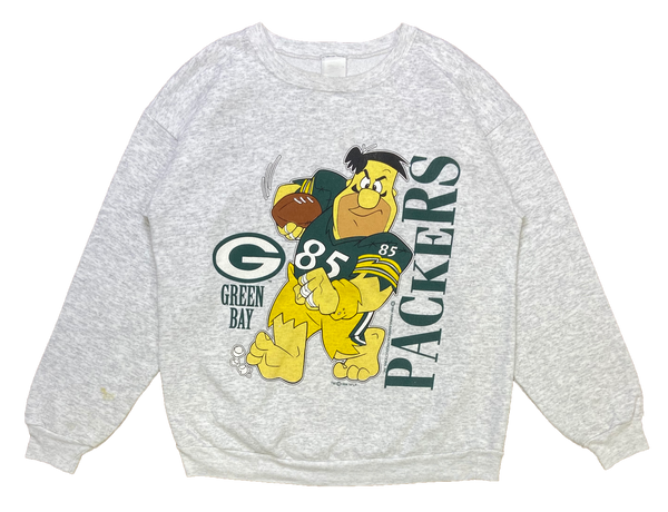 90's Packers x The Flintstones Vintage Sweat-Shirt / 1353