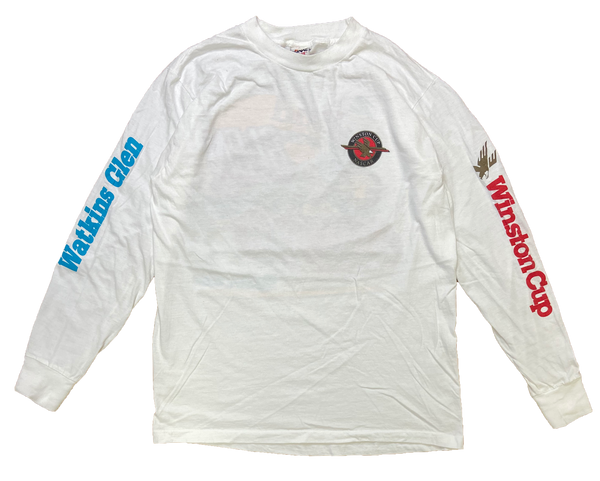 90's Winston Vintage Racing Long Sleeve T-Shirt / 1367