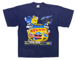 90's m&m's Vintage NASCAR Racing T-Shirt / 1374