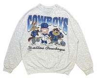 90's Looney Tunes x Cowboys Vintage Sweat-Shirt / 1396