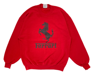 80's Ferrari Vintage Sweat-Shirt / 1436