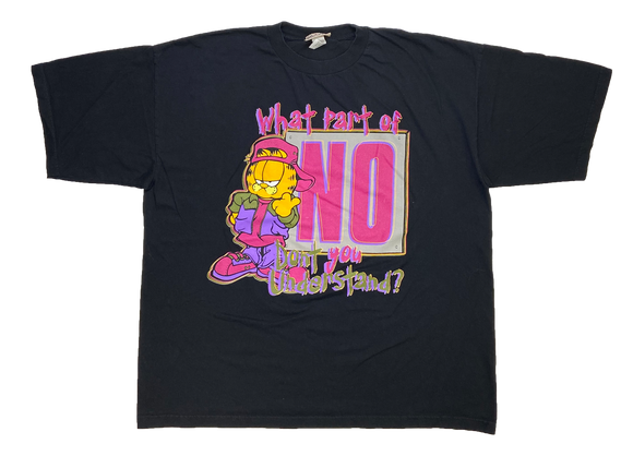 90's Garfield Vintage T-Shirt / 1477