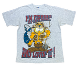 90's Garfield Vintage T-Shirt / 1488