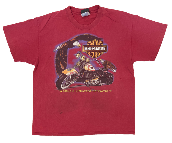 90's Harley Davidson Vintage Made in USA T-Shirts / 1531