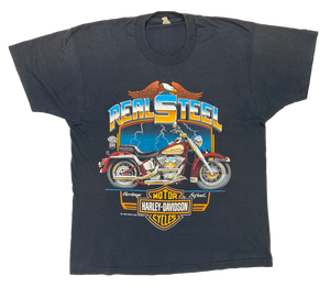 80's Harley Davidson Vintage Made in USA T-Shirts / 1535