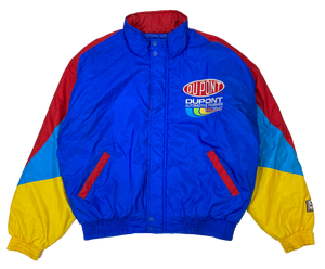Du Pont Vintage Racing Padded Nylon Jacket / 1559
