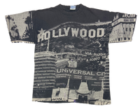 1996 Hollywood All over print Vintage T-Shirt / 166