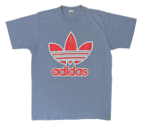 80's Adidas Made in USA Vintage T-Shirt / 1672
