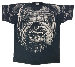 1996 Lquid Blue Bulldog  Vintage T-Shirt / 170