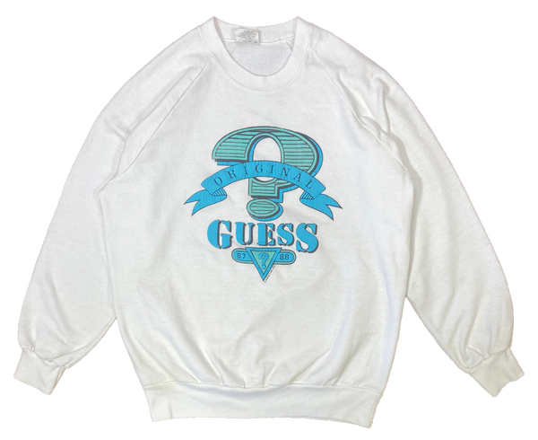 80's Guess Made in USA Vintage Sweat-Shirts / 1713