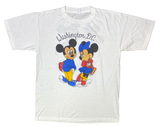 80's Vintage Mickey & Minnie Disney Made in USA T-Shirt / 1781