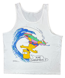 90's Bart Simpson Vintage Tank Top / 1788