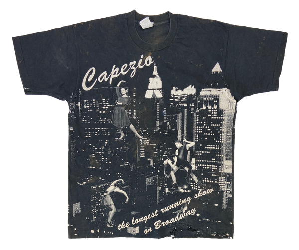 90's Vintage Capezio All Over Print Made in USA T-Shirt / 1812