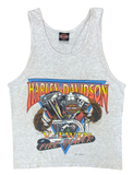90's Vintage Harley Davidson Made in USA Tank Top / 1827