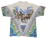 1996 Liquid Blue Tie-dye Vintage T-Shirt / 185
