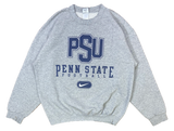 90's Nike Penn State Football Made in USA Vintage Sweat-Shirt / 1865