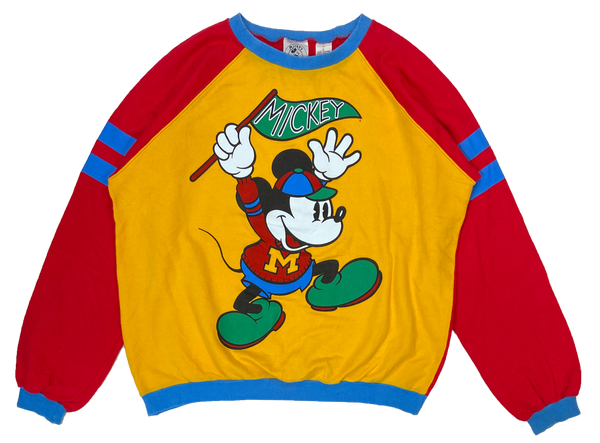 90's Vintage Mickey Mouse Disney Sweat-Shirt / 1877