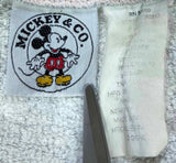 90's Vintage Mickey Mouse Disney Sweat-Shirt / 1961