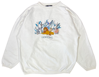 90's Vintage Lion King Made in USA Disney Sweat-Shirt / 1972