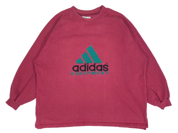 90's adidas Equipment Bootleg Vintage Sweat-Shirts / 654