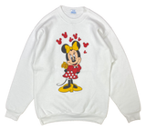 80's Vintage Minnie Mouse Made in USA Disney Sweat-Shirt / 2024