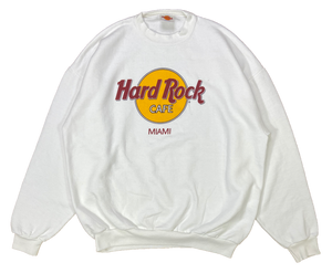 90's Vintage Hard Rock Cafe Miami Made in USA Sweat-Shirt / 2061