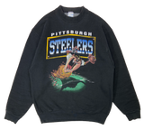 90's Steelers x Looney Tunes Made in USA Vintage Sweat-Shirt / 2069