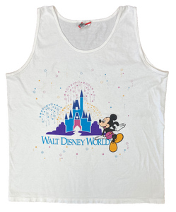 90's Vintage Walt Disney World Tank-Top / 2080